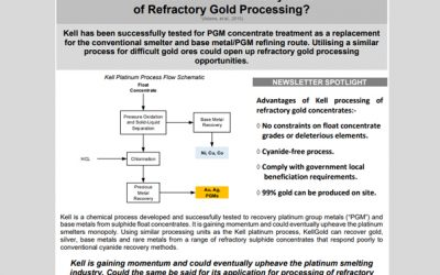 March 2018 / Kellgold Refractory Gold Processing
