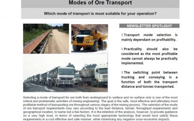 January 2019 – Ore Transport