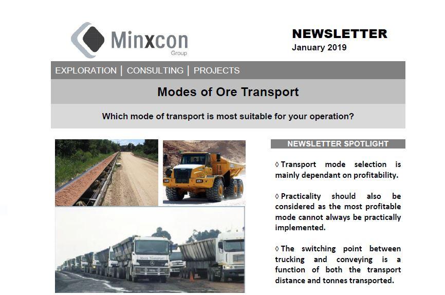 January 2019 / Ore Transport