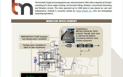 Kombat Copper Processing Plant